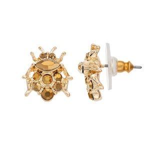 Simply Vera Vera Wang - Gold Beetle Earrings